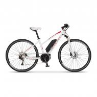 Elektrokolo cross Apache Matto lady Bosch Active Plus 400 Wh bílá 2018, 17""